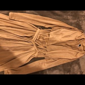 Camel Duster/Cardigan from Windsor